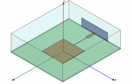 em: talk - HFSS Tutorial 1: Microstrip Patch Antenna